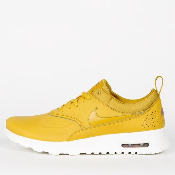 Nike Shoes | Nike Air Max Thea Yellow